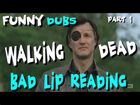 bad lip reading walking dead what they really said bad lip reading walking dead what they really said