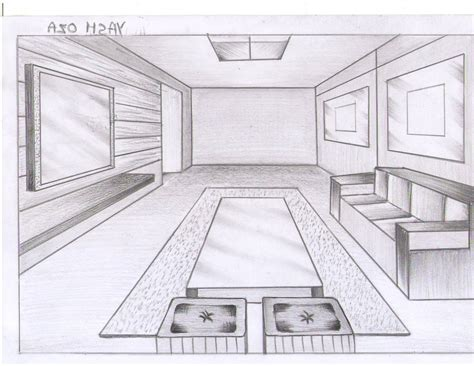 draw room perspective living room this drawing shows the view of a living room grab decorating