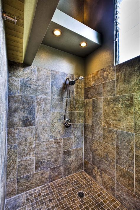 bathroom shower lights shower lighting ideas bathroom tropical with bamboo