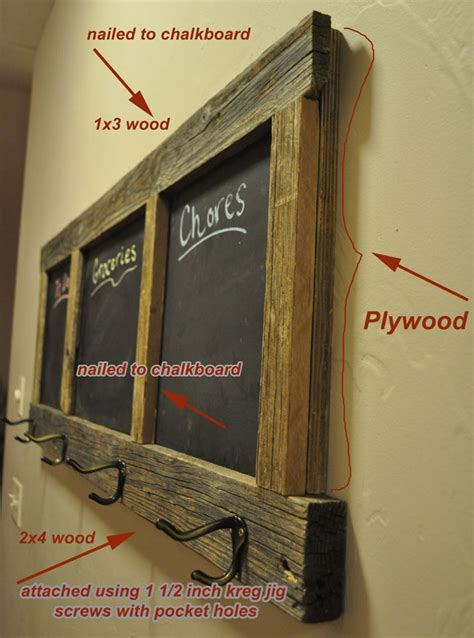 diy chalkboard wood diy chalkboard coat rack project
