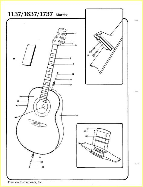 ovation applause ae 35 wiring diagram 37 wiring diagram