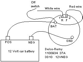 fotos delco remy alternator wiring diagram on wiring 12v