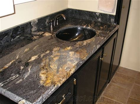 black granite countertops in bathroom cosmic black granite bathroom countertops from china