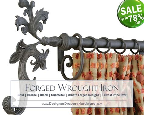 iron drapery hardware 52 best featured products images on pinterest drapery