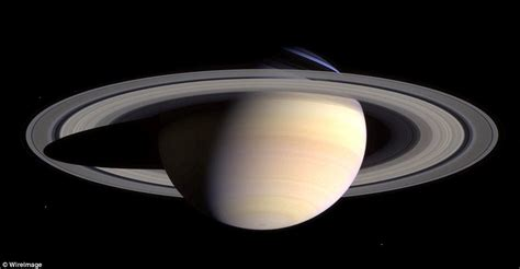 satellite sent to saturn saturn image reveals its immense size and spectacular