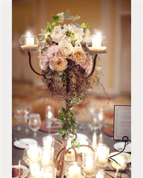 15 candelabra floral centerpieces mon cheri bridals