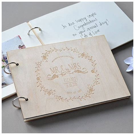 Handmade Book Ideas - seven favourite wedding guest book ideas