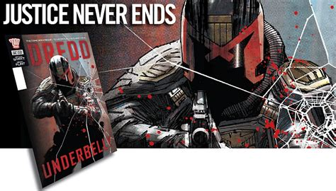 unmasking the underbelly of the va books comics books 2000 ad presents dredd underbelly