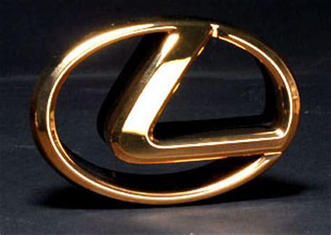 gold lexus logo gold lexus logo front emblem gold lexus logo emblem on a