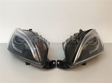 mercedes headlights at mercedes ml class w166 2011 ahl xenon headlights