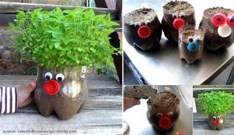 cara membuat kerajinan tangan dari barang bekas cantik kerajinan tangan dari botol bekas berbentuk pot bunga