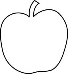 Apple Outline Png by Plain White Apple Clip At Clker Vector Clip Royalty Free Domain
