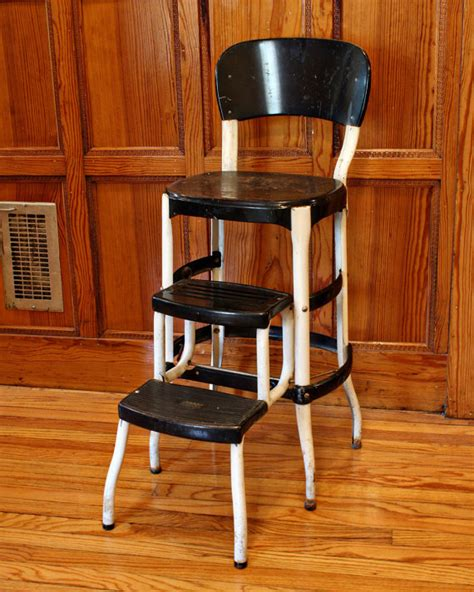 Kitchen Stool With Steps by Vintage Stool Step Stool Kitchen Stool Cosco By Oldcottonwood