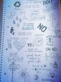 doodle imagine draw notebook grunge doodles journal doodles grunge and