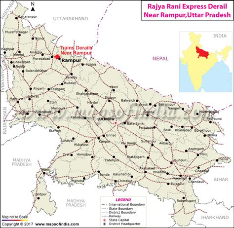 meerut on india map trainn meerut lucknow rajya rani express derails