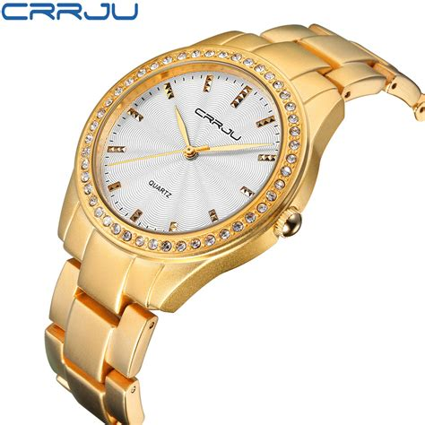 newest wrist watches for girls watch accessories famous brand new crrju watches women ladies crystal