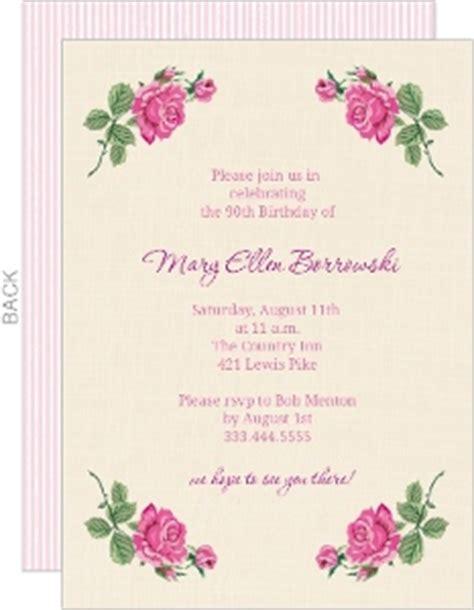 100th birthday card template 90th birthday invitations 90th birthday invitations for