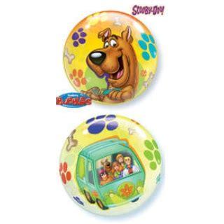 Balon Hbd Bw 22 quot scooby doo see thru balloon balloon warehouse