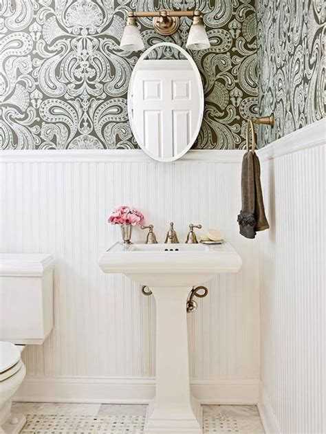 bathroom wallpaper border ideas colorful bathroom designs interior designing ideas