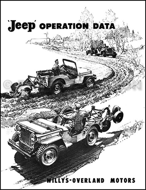 1945 willys jeep parts 1945 1949 willys jeep parts book reprint