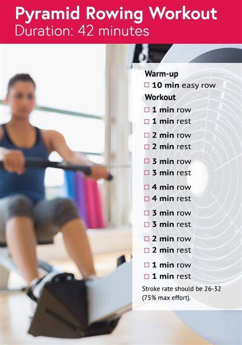 best 25 rowing machine workouts ideas on