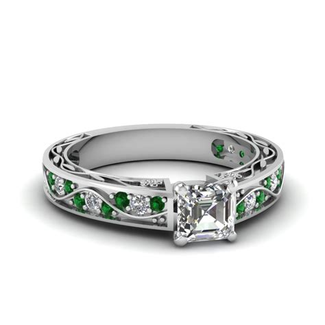 find our emerald engagement rings fascinating diamonds