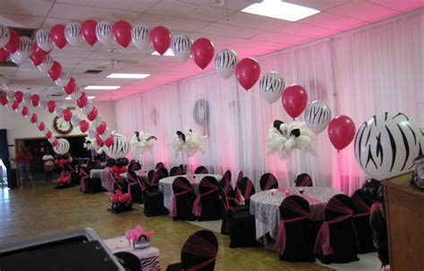Sweet 16 Decoration Ideas Home by Event Decorating Company Zebra Sweet 16 Canopy Ta Florida