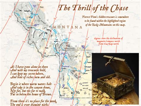 fenn treasure map an unsolved riddle that leads to a treasure hunt awaits