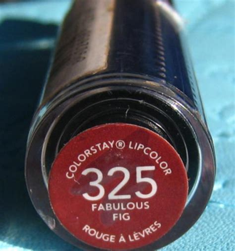 Revlon Fabulous Fig revlon colorstay lip color fabulous fig 325