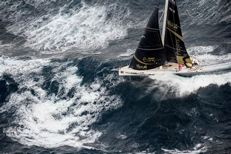 sailing boat in a storm sailing in storm check out these rough seas red bull