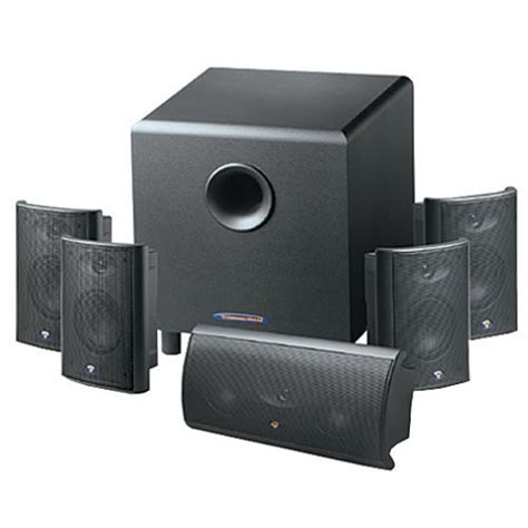 cerwin avs 632 5 1 channel home theater speaker