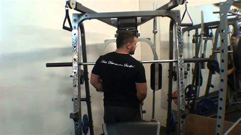 smith machine with bench package home exercises f
