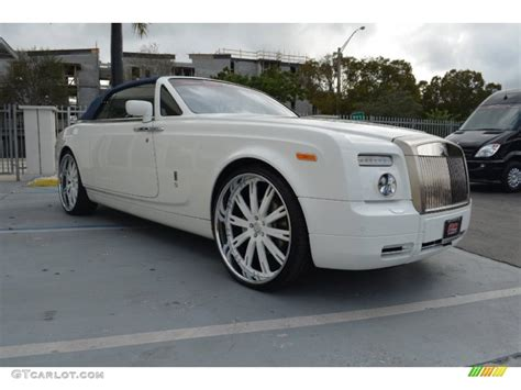 customized rolls royce phantom 2009 rolls royce phantom drophead coupe custom wheels