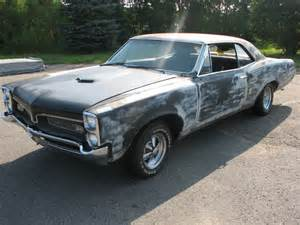 1967 Pontiac For Sale 1967 Gto Project Car For Sale