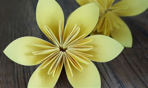 Daffodil Origami - origami daffodils for daffodil day cancer council nsw