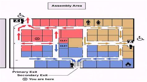 floor plan requirements evacuation floor plan requirements
