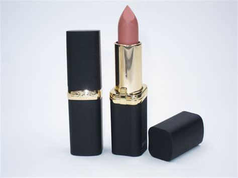 l oreal colour riche matte lipstick l oreal colour riche matte lipstick review swatches
