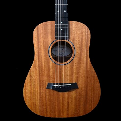 video guitar taylor bt2 baby taylor travel acoustic guitar with