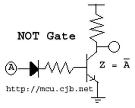 not gate using diodes c shortest tutorial part 1
