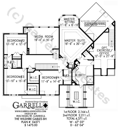 wilshire homes floor plans wilshire gables bh house plan estate size house plans