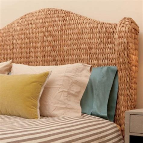 King Seagrass Headboard by Seagrass Headboard At Global Home