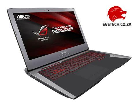 Laptop Asus Rog I7 buy asus rog g752vl 17 3 quot i7 gaming laptop at evetech