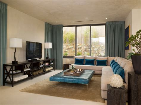 modern family room decorating ideas stupendous teal window treatments decorating ideas images