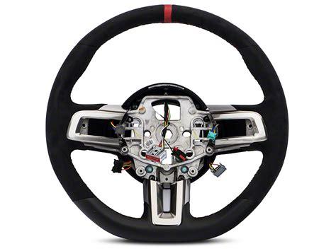 mustang gt steering wheel ford performance mustang gt350r leather alcantara