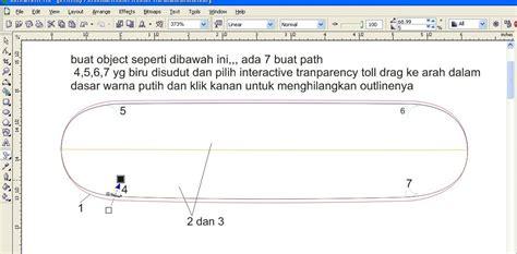 membuat web kus tutorial coreldraw membuat papan seluncur kelihatan hidup