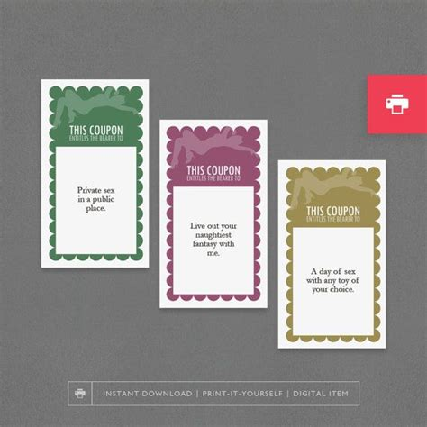 printable vouchers for husband love sex coupons printable adult gift cheap husband