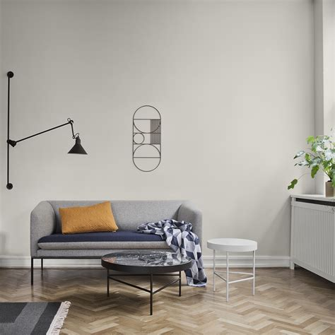 Wonderful Walls At Ferm Living by Buy Ferm Living Oval Outline Wall Decor Smoked Oak Amara