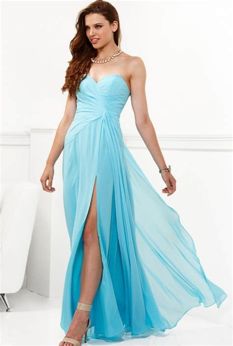 Light Blue Dress by Beautiful Light Blue Semi Formal Dress Collection Dress Collection Fashion Style
