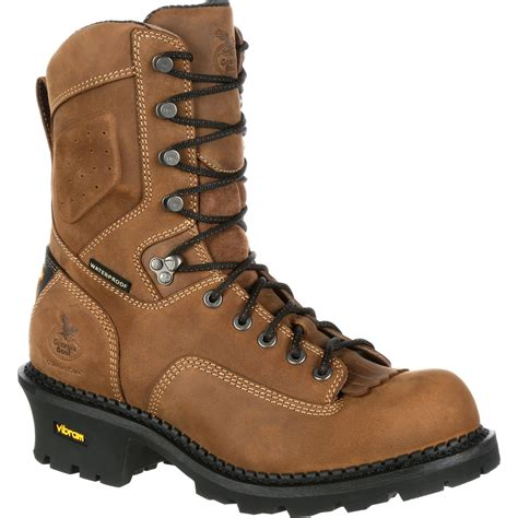 georgia boots comfort core comfort core logger waterproof work boots georgia boot