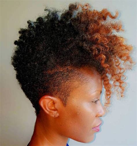 afro haircuts taper women 40 cute tapered natural hairstyles for afro hair mohawks